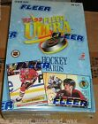 1992-93 FLEER ULTRA HOCKEY SERIES 1 FACTORY SEALED BOX FROM CASE PREMIER EDITION