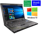 IBM LENOVO LAPTOP THINKPAD T400 WINDOWS 10 WIN DVDRW WiFi CORE 2 DUO 226GHz PC