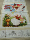Mother Goose Vintage Workshop 24x44 Fabric Quilt 100% Cotton Panel