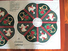 Christmas Wreath Fabric Panel A Christmas Gathering Wamsutta