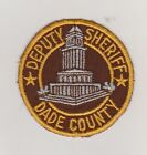 old Dade County FL Deputy Sheriff patch