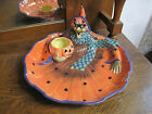 Fitz and Floyd Witch Hazel Chip and Dip Bowl NIB