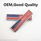 2 X Metal US Emblem Stars and Stripes Badge Motorcycle Fenders Sticker For KYMCO