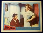 HELL BOUND ORIGINAL 11X14 LOBBY CARD #2 1957 STUART WHITMAN JUNE BLAIR