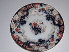 William Ridgway & Co. IMPERIAL STONE  Antique FLOW BLUE SALAD PLATE 1838