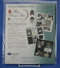 Creative Memories Photo Mounting Paper Scrapbook Pages 15 Sheets 5 Colors