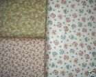 3 YDS Red Rooster Florals  QUILT FABRIC