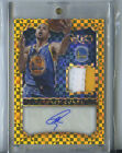 STEPHEN CURRY GOLD PRIZM REFRACTOR 5 10 PATCH AUTO 2014 15 SELECT