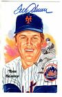 Autographed TOM SEAVER New York Mets Perez-Steele Post Card With COA