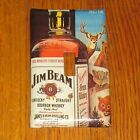 VINTAGE STYLE JIM BEAM KENTUCKY STRAIGHT BURBON WHISKEY LIGHT SWITCH COVER PLATE