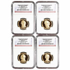 2010 S Proof 1 Presidential 4pc Set NGC PF69UC Presidential Label