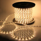 50 100 150 300 Ft LED Rope Lights Home Party Christmas Decorative In Outdoor
