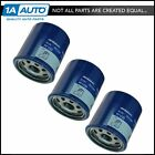 AC Delco PF1233 Engine Oil Filter Set of 3 for Chevy Pontiac Geo New