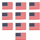 Wholesale lot 12 3 x 5 ft USA US American Flag Stars Grommets United States