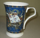DUNOON CREMORA UMBERTO BRANCELLI FINE BONE CHINA BLUE CUP MADE IN ENGLAND