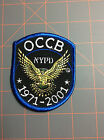 NYPD Organized Crime Control Bureau Patch Mafia Russian Chinese Irish Italian NY