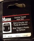 MORSE AT23 Carbide Hole Saw Carbide Tipped 1 7 16in