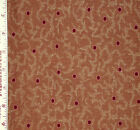 FABRIC 1 Yard MATTERS OF THE HEART Reproduction Dots & Branches Kaye England SSI