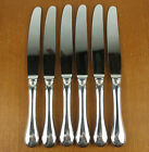 6 x LUNCHEON KNIVES 8 5/8