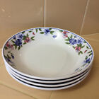 4-Oneida Majesticware FREESIA Soup/Salad Bowls Excellent Condition!