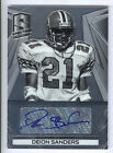 2014 Panini Spectra Retired #DS Deion Sanders Autograph Card #08 10