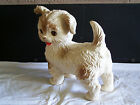 Vtg. 1950's The Edward Mobley Co. Plastic Toy Squeaker Pooch Dog EXCELLENT COND.