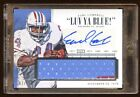 2015 NATIONAL TREASURES EARL CAMPBELL AUTO 10 JUMBO PATCH JERSEY AUTOGRAPH HOF