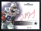 2011 Topps Precision #119 DeMarco Murray Red Ink On Card Rookie Autograph #63 75