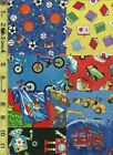 50+ 5 Kids Whimsical I Spy BOY Set Quilt Craft Squares Charms Colorful Bright