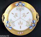 Antique Hand Painted Limoges Pickard Signed A. Richter Plate Charger  ca.1905