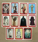 1977 Topps Star Wars 4th Series 4 Complete 11 Card Green Sticker Set NM-