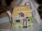 Vintage COTTAGE House Porcelain Tea Pot