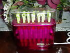 CONAIR  SWIZZLERS 14 HOT STICKS tight curls SPIRAL BENDABLE HOT CURLERS ROLLERS