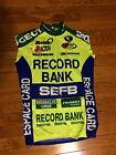 Mens Giordana Peugeot SEFB Cycling Bike Jersey Large Made In Italy