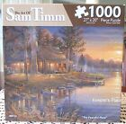 Sam Timms THE PEACEFUL PLACE Lodge Cabin 1000pc Jigsaw Puzzle Karmin Sealed Rare