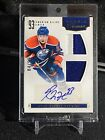 2011-12 Rookie Treasures Ryan Nugent Hopkins Auto RC Jersey Patch #'D 99