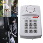 Security Keypad Door Ring Alarm System w/ Panic Button For Home Garage Caravan