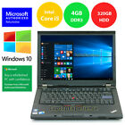 LENOVO LAPTOP THINKPAD NOTEBOOK WINDOWS 10 DVDRW i5 240GHz 320GB HD 4GB WiFi PC