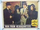 MAN FROM HEADQUARTERS-1944-FILM NOIR-LOBBY CARD VG