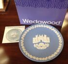 Wedgwood Hampton Court 1976 Christmas Collectors Plate w/box