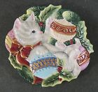 Fitz & Floyd Essentials Kristmas Kitty Christmas Cat Kitten 9