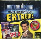 Doctor Who Monster Invasion Extreme Factory Sealed Hobby Box 24 Packs