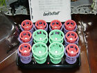 CLAIROL-LOCK N ROLL TIGHT CURLS SPIRAL 24 (3 SIZES) HOT CURLERS ROLLERS INSTRUCT
