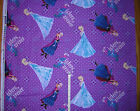 New * Disney Frozen Sister's Forever * large print cotton fabric 1 yd -  Wrinkle