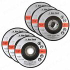 115mm Depressed Centre Cutting Discs + METAL/STONE + Professional Angle Grinder