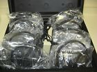 Alot of (8) Vintage Aves Model D-1000C Headphones with Audio visual box