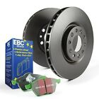EBC S11KF1647 Stage 11 Front Brake Kit fit Geo Prizm 93 97 16 Toyota Corolla
