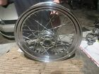 86-99 Harley FLST Heritage Softail Chrome Twisted Spoke Front Wheel OEM