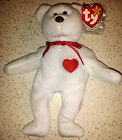 Retired Ty Beanie Babies Valentino  Very Rare with Swing Tag & Tush Tag Error.