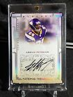 2007 National Treasures Adrian Peterson Auto RC GOLD #'D 49 Rookie SP Vikings